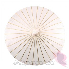 Parasolka biała