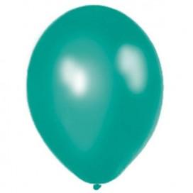 Balony METALICZNE morskie 30 cm, 100 sztuk