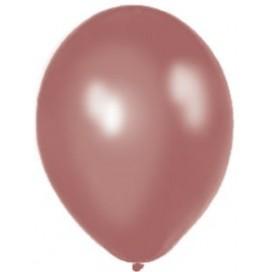 Balony METALICZNE brązowe 30 cm, 100 sztuk
