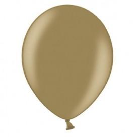 Balony METALICZNE orzechowe 30 cm, 100 sztuk
