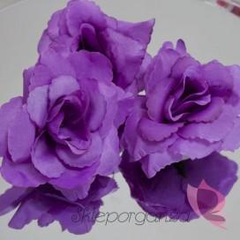 Róże do przylepiania fioletowe, 24 szt