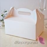 Pudełko na ciasto - Białe