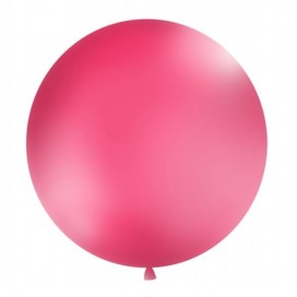 Balon olbrzym ciemnoróżowy