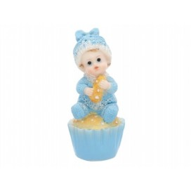 Figurka Chłopiec na ciastku