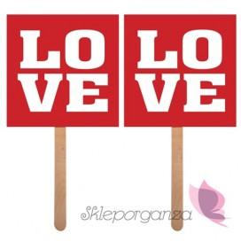 Karteczki, tabliczki Karteczki Love/Love, 2szt