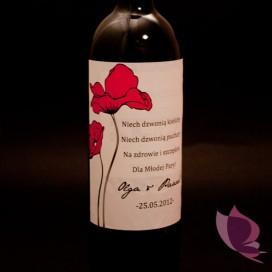 Etykieta na alkohol - personalizacja kolekcja MAKI