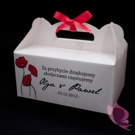 Pudełko na ciasto - personalizacja kolekcja MAKI