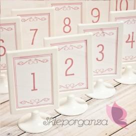 Numery stolików - personalizacja kolekcja LOVE