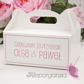 Pudełko na ciasto - personalizacja kolekcja LOVE