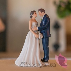 Figurki na tort Porcelanowa figurka na tort - Klasyczna Elegancja