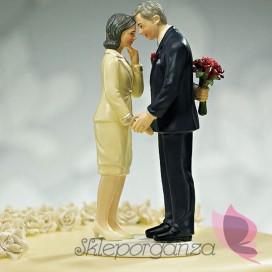 Porcelanowa figurka na tort - Wciąż zakochani