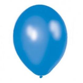 Balony METALICZNE niebieskie 30 cm, 100 sztuk