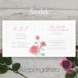 Zaproszenie – personalizacja kolekcja VINTAGE ROSE