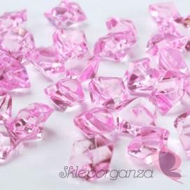 Kryształowy lód różowy 50 sztuk