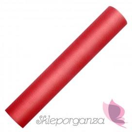 Tiul czerwony, rolka 30cm x 9m