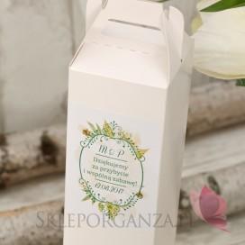 WOODLAND WHITE Pudełko na alkohol – personalizacja kolekcja WOODLAND WHITE