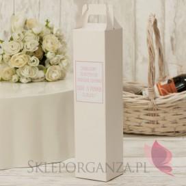 Pudełka na alkohol Pudełko na alkohol – personalizacja kolekcja LOVE