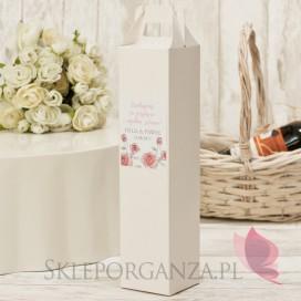 Pudełka na alkohol Pudełko na alkohol – personalizacja kolekcja VINTAGE ROSE