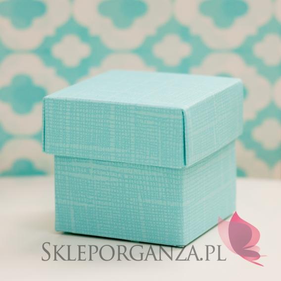 Pudełka Pudełko kostka tiffany blue