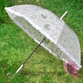 Parasol przezroczysty KORONKA