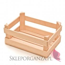 Rustykalny Drewniana mini skrzyneczka