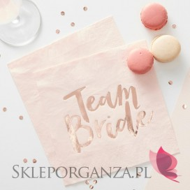 Kolekcja Team Bride Serwetki KOLEKCJA TEAM BRIDE