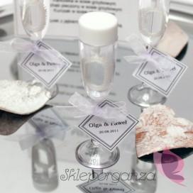 Bańka mydlana szampan - personalizacja