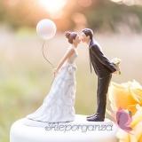 Porcelanowa figurka na tort - Balon