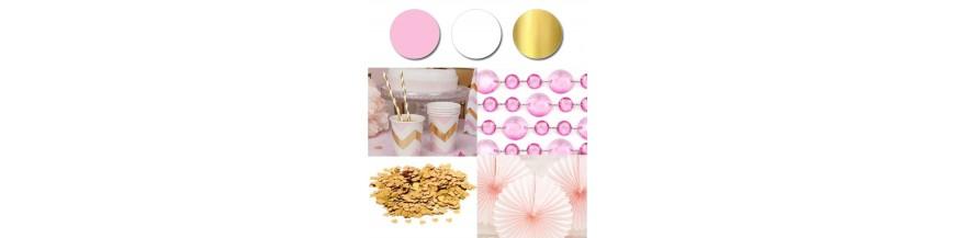 Paleta - róż, złoty