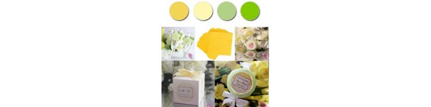 Paleta - żółty, zielony