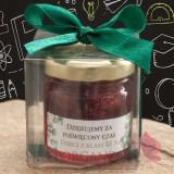 Zestawy prezentowe z miodami dla Nauczycieli Miód akacjowy z malinami w ozdobnym pudełku - personalizacja Dzień Nauczyciela
