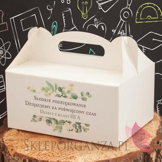 Zestawy prezentowe z miodami dla Nauczycieli Zestaw upominkowy miód DUŻY – personalizacja Dzień Nauczyciela