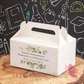 Zestawy prezentowe z miodami dla Nauczycieli Zestaw upominkowy miód MAŁY – personalizacja Dzień Nauczyciela