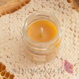 Świece z naturalnego wosku pszczelego dla Nauczycieli Świeca z wosku pszczelego NATURALNA – personalizacja Dzień Nauczyciela