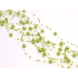 Girlandy perłowe Girlanda perłowa jasny oliwkowy