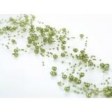 Girlandy perłowe Girlanda perłowa ciemna zieleń