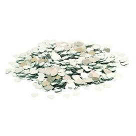 Konfetti srebrne serduszka