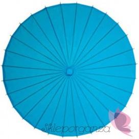 Parasolka turkusowa