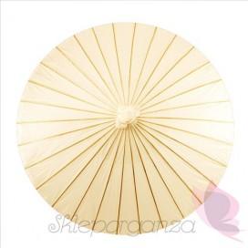 Parasolka kremowa