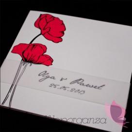 Zaproszenia ślubne Zaproszenie – personalizacja kolekcja- MAKI