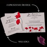 Zaproszenie - personalizacja kolekcja MAKI
