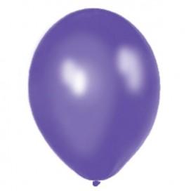 Balony METALICZNE ciemnofioletowe 30 cm, 100 sztuk