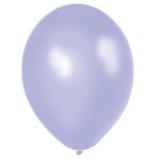 Balony METALICZNE jasnofioletowe 30 cm, 100 sztuk