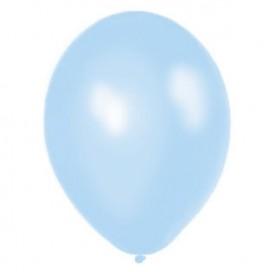 Balony METALICZNE jasnoniebieskie 30 cm, 100 sztuk