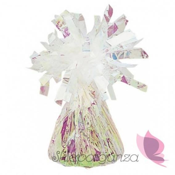 Balony na Baby Shower Obciążnik do balonów foliowy, perłowy
