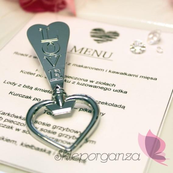 Gadżety weselne Otwieracz do butelek LOVE