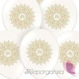 Balony komunijne Balon komunijny perła - ornament