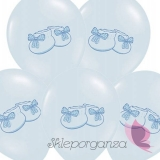 Balony na Baby Shower Balon Bucik Niebieski