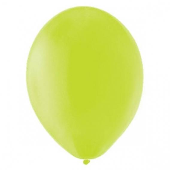 Balony pastelowe Balony PASTELOWE jasnozielone 25 cm, 100 sztuk