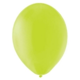 Balony PASTELOWE jasnozielone 25 cm, 100 sztuk